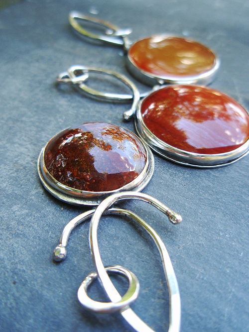 red moon pendants