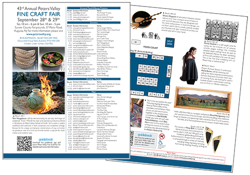 peters valley show brochure