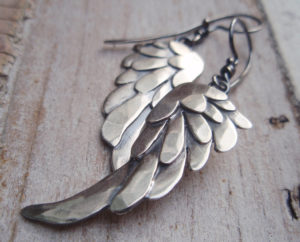 AJB blackbird earrings 5