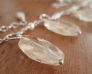 AJB faceted rough citrine necklace 5