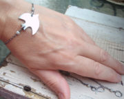 dove bracelet-necklace on