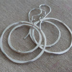 AJB concentric double hoop earrings 1
