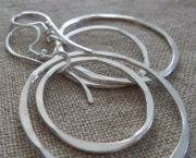 AJB concentric double hoop earrings 5