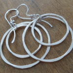 AJB concentric double hoop earrings 6