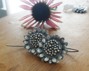 AJB sunflower earrings 6