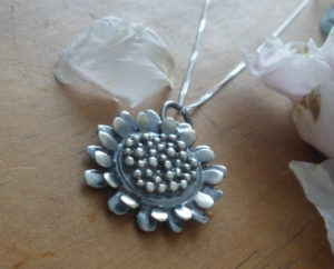 AJB sunflower pendant 1