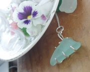 sea glass chunk pendant 6