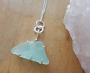 sea glass chunk pendant 7