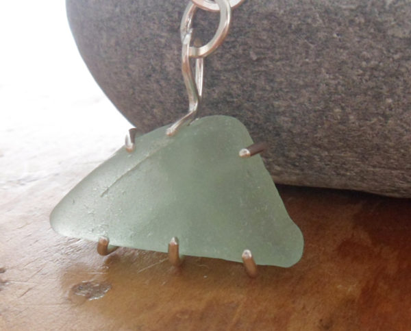 sea glass chunk pendant 8